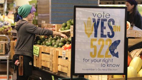 Washington votes against GMO labeling – preliminary results | GMO Salmon | Scoop.it