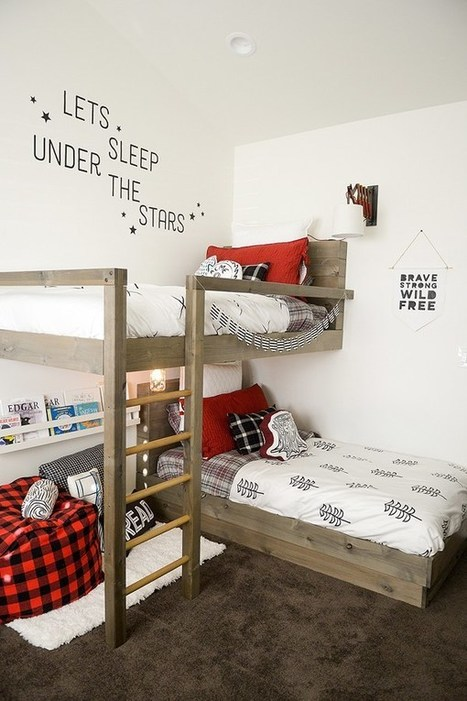 8 Free Bunk Bed Plans | Furniture Plans | Scoop.it