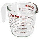 Pyrex Prepware 2-Cup Measuring Cup, Clear with Red Measurements   aePiots   Scoop.it