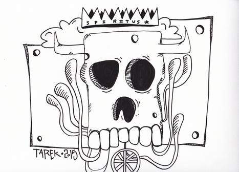 Arts Graphiques | Tarek | Tarek 26 | Tirage d'art en série limitée sur L'oeil ouvert | Les créations de Tarek | Scoop.it