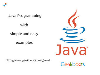 Java Programming with Example   Learn programming with examples   Scoop.it