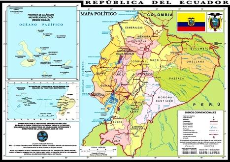 Map of Ecuador | Ecuador, Devin Elder | Scoop.it