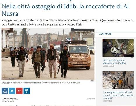 Ricucci accusa: falso il reportage di Quirico da Idlib | Notizie dalla Siria | Scoop.it