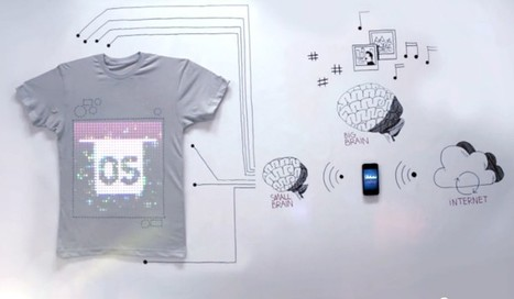 TshirtOS is web-connected, programmable, 100 percent cotton (video) | scatol8® | Scoop.it