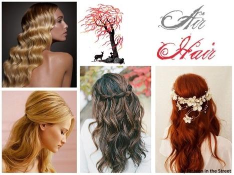 Peinados de moda para invitadas a boda / trendy hairstyles for a ... | peluqueria | Scoop.it