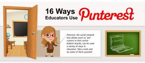 16 Ways Teachers Use Pinterest | Business Training | Scoop.it
