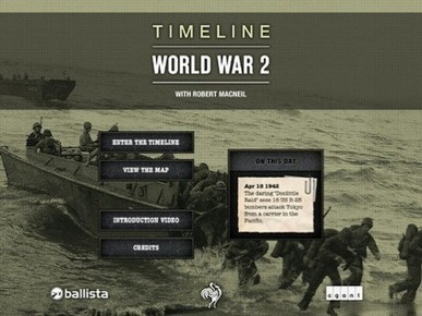 Timeline WW2 offers museum-quality app interaction | Apps for the Student-Centered Classroom | Scoop.it