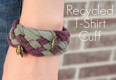 Carosello: DIY Recycled T-Shirt Cuff | Market Day Ideas | Scoop.it