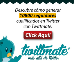 Obten Trafico Cualificado con Twittmate | Marketing | Scoop.it
