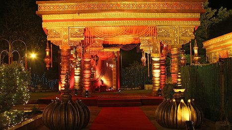 Outdoor Wedding Venues   Wedding Decor India   Scoop.it