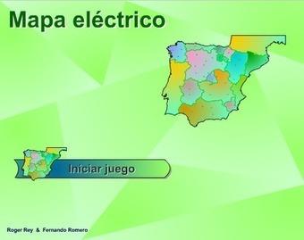 APRENDER ES DIVERTIDO: MAPA ELÉCTRICO ESPAÑA (CAPITALES DE PROVINCIA) | Blogs y EF | Scoop.it