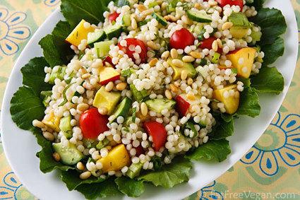 6 Fantastic Vegan Pasta Salads for Summer | My Vegan recipes | Scoop.it