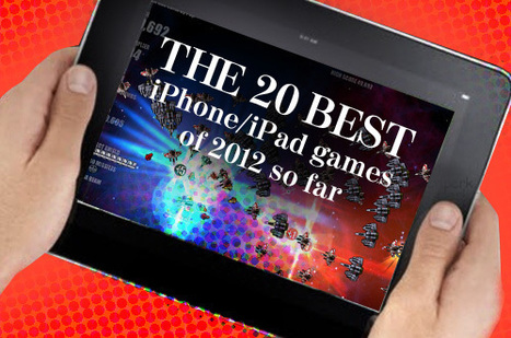 The 20 Best iPhone/iPad Games of 2012 So Far | computer game in education | Scoop.it