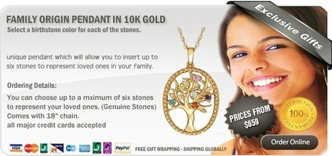 Family Origin Pendants are a beautiful way to always keep your Family close   Family Pride   Scoop.it