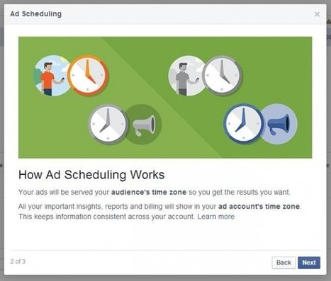 Facebook: Werbeanzeigen nach Uhrzeit und Tag planen   Facebook-Marketing   Scoop.it