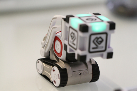 Cozmo is an endearing little robot with growing up todo | Heron | Scoop.it