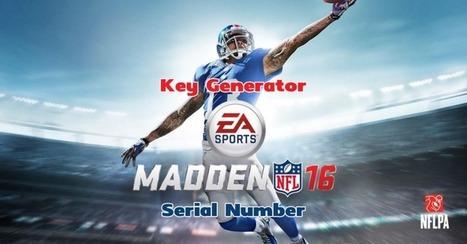 Madden NFL 16 Key Generator - CheatsGo! | CheatsGo Hacks and Cheats | Scoop.it