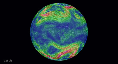 An animated map of global wind conditions | Open Knowledge | Scoop.it