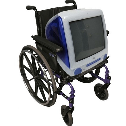 ATMac - Empowering Apple Users With Disabilities   Scooters don't have to be red!   Scoop.it