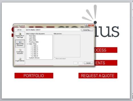 PowerPoint Hyperlinks: Creating an Interactive Deck | Skolbiblioteket och lärande | Scoop.it