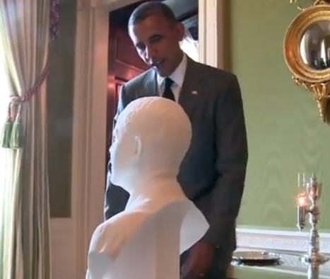 The President, 3D #3DPrinted #3DThursday #3DPrinting | Technologies innovantes | Scoop.it