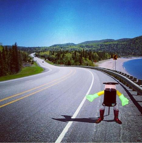Thumbs Up! HitchBOT the Robot Plans to Hitchhike Across Canada - NBC News | Troy West's Radio Show Prep | Scoop.it
