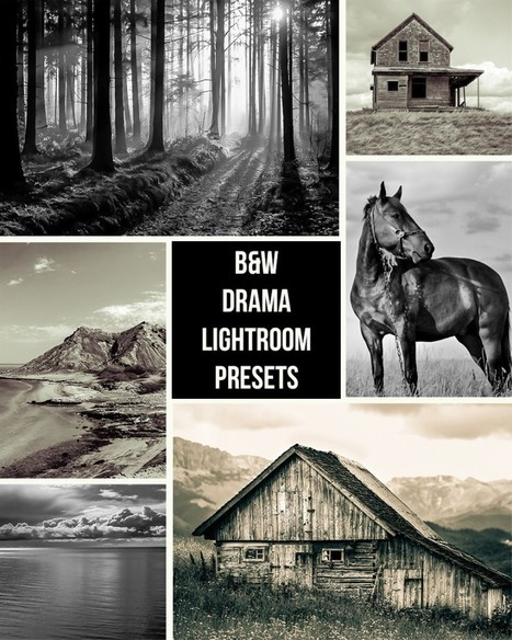 [Preset Lightroom] Dramatic Black and White | Photography Stuff For You | Scoop.it