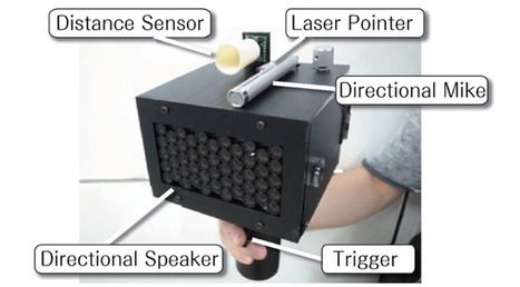 New speech-jamming gun: A must have at Faculty Meetings and for quieting noisy students | Future Edtech | Scoop.it