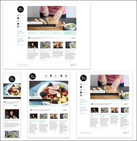 Cool Beautiful Responsive Website/Mobile Designs Inspire | mHealth marketing | Scoop.it