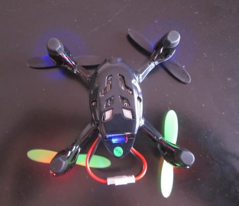 Hubsan X4 h107c: un drone bien sympa pour moins de 60€ | Geekologie.me | Une nouvelle civilisation de Robots | Scoop.it