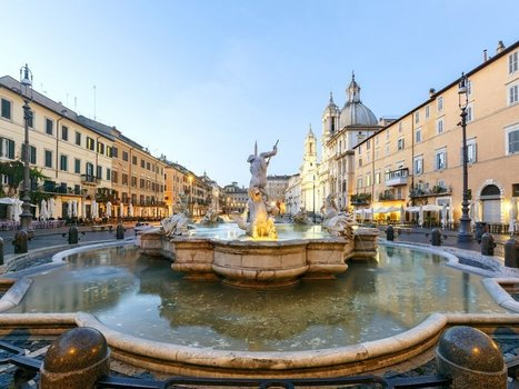 Italy's Most Beautiful Fountains by CNTraveler | Italia Mia | Scoop.it