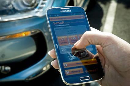 Chez PSA, le smartphone devient la clé de notre voiture connectée | WEB | Scoop.it