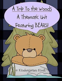 The Lesson Cloud: Bears Thematic Unit For Kindergarten | Kindergarten | Scoop.it