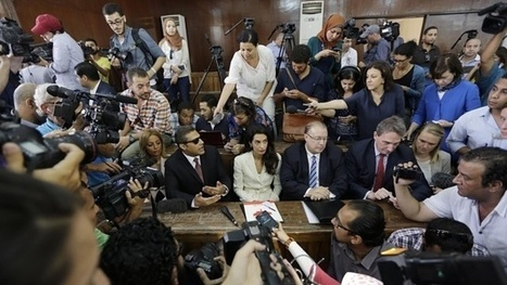 Al-Jazeera journalists ( Mercenaries)  sentenced to three years in prison by Egyptian court | Saif al Islam | Scoop.it