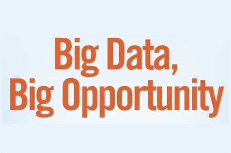 Big data equals big opportunities for businesses [Infographic] | visual data | Scoop.it