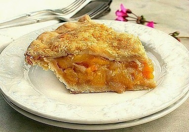 Bunny's Warm Oven: The Perfect Peach Pie | Bunny's Warm Oven | Scoop.it