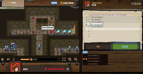 CodeCombat: Learn to Code by Playing a Game | talkprimaryICT | Scoop.it