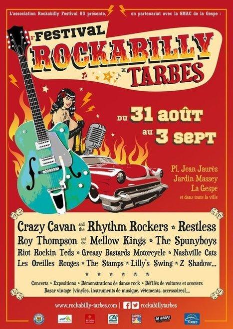 Festival Rockabilly 2016 à tarbes - Hautes-Pyrenees / Foxoo | Mes Hautes-Pyrénées | Scoop.it