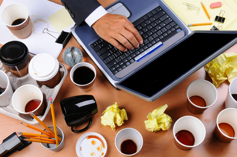 Want to be More Productive? Clean Your Desk. More Creative? Trash It. | Applied Web NY Management Insights | Scoop.it