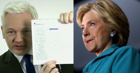 BREAKING: Assange Drops Bombshell Cables With Hillary's Signature | Xposing Government Corruption in all it's forms | Scoop.it