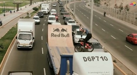 RedBull organise un ride BMX dans des embouteillages | the world of communication | Scoop.it