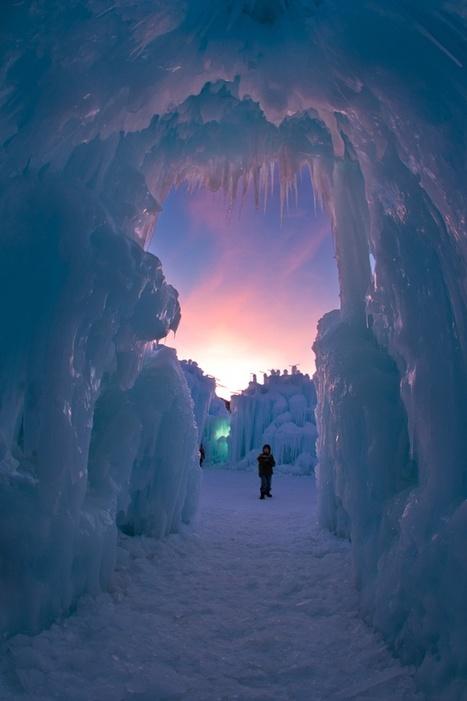 Ice Castle, Utah | I didn't know it was impossible.. and I did it :-) - No sabia que era imposible.. y lo hice :-) | Scoop.it