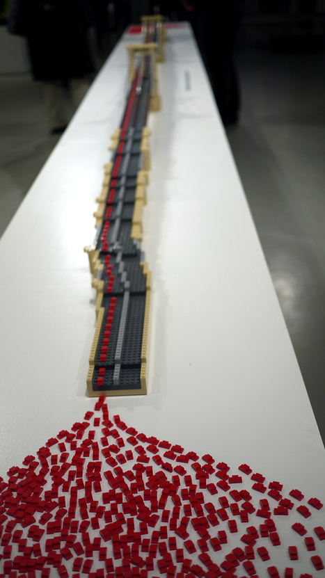 Experiencing Sean Kenney's Lego Piece By Piece at the Art ... | COMVICTION | Scoop.it