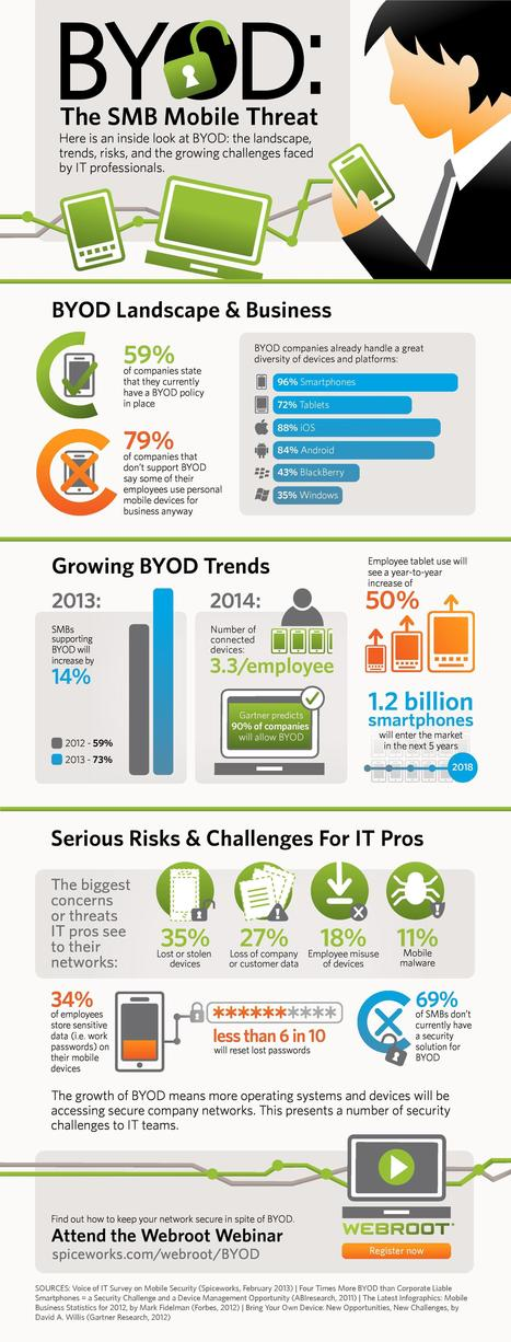 Infographic: The Current State of BYOD | Cloud content from Windows IT Pro | Asset Management Engineering | Scoop.it