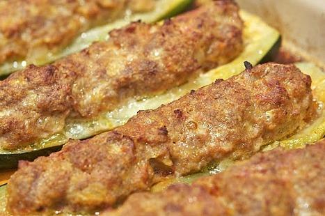 Zucchine ripiene al forno (Baked Zucchini Boats)   Le Marche and Food   Scoop.it