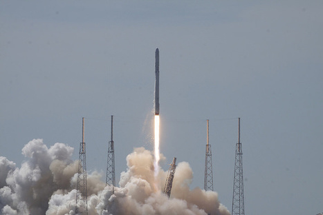 Data, not debris, takes spotlight in Falcon 9 failure investigation | Spaceflight Now | The NewSpace Daily | Scoop.it