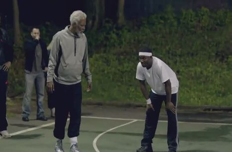 NBA Rookie of the Year Kyrie Irving dresses as old man, and schools everyone. | Longevity Strategies | Scoop.it