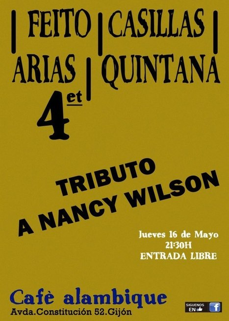 Tributo a Nancy Wilson en el Café Alambique   Actualidad del Jazz en Asturias   Scoop.it