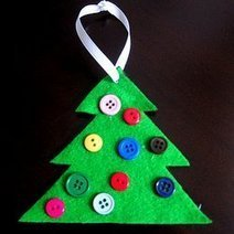 30 Homemade Ornaments for the Kids - hands on : as we grow | Christmas Decorations | Scoop.it