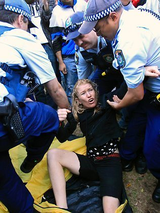 Occupy Sydney and a heavy-handed police | Australian Culture | Scoop.it